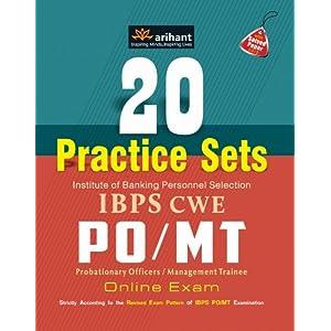 20 Practice Sets IBPS CWE PO/MT Online Exam
