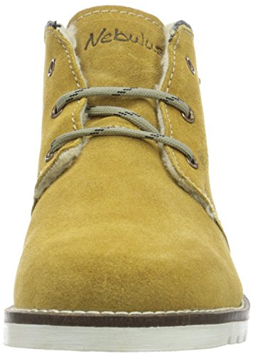 Nebulus P1006, Botas Cortas Hombre Amarillo (Gelb 003)