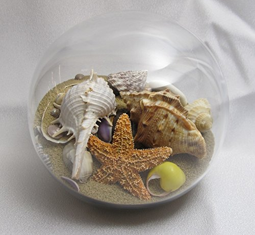 Sand & Shell Sandglobe Paperweight 4-inch Off-white Sand Dune Design Studios Inc. 4-OW