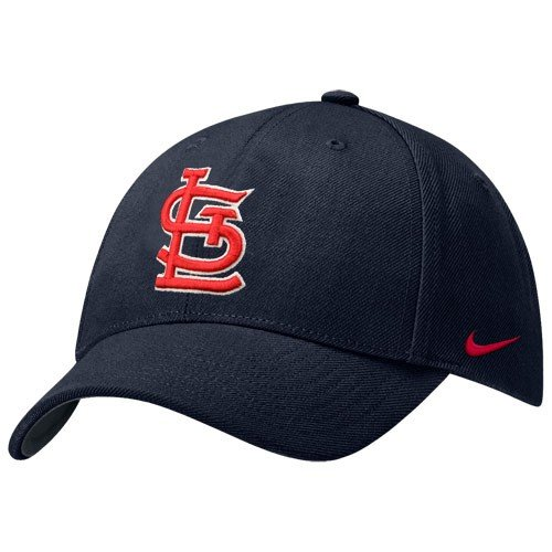 Nike St Louis Cardinals Navy Blue 2008 Wool Classic Adjustable ()
