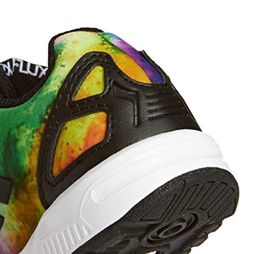 adidas ZX Flux - Zapatos de Primeros Pasos Bebé-Niños Multicolor