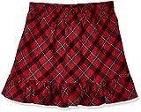 A for Awesome Girls Christmas Yarn Dye Plaid Skirt