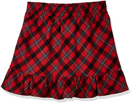 A for Awesome Girls Christmas Yarn Dye Plaid Skirt