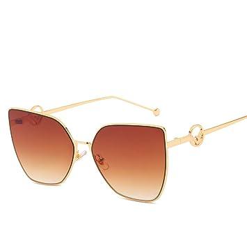 Yangjing-hl Gafas de Sol Tendencia Personalidad Gafas de ...