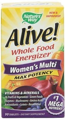 Nature's Way Alive! Women's Multi Maximum Potency