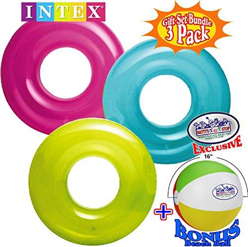- Intex Transparent Inflatable Tubes (30