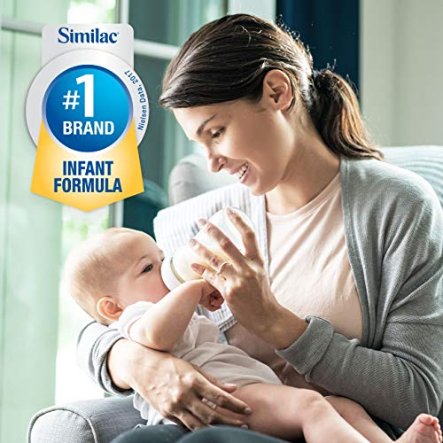 Pure Bliss by Similac Infant Formula, Modeled After Breast Milk, Non-GMO Baby Formula, 31.8 ounces, 4 count by Similac (Image #8)