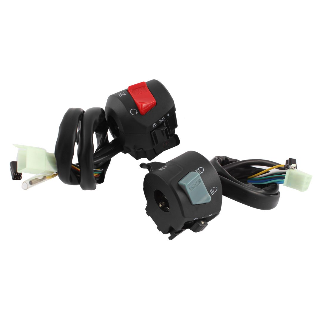 uxcell Motorcycle Handlebar Electrical Controller Switch
