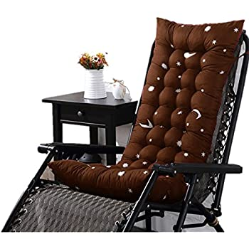 CHENMA Rocking Chair Cushions 1 Piece Soft High Back Outdoor Non Slip Thick Seat  Cushion