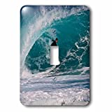 Danita Delimont - Sport - USA, Hawaii, Oahu, Surfer riding barrel at Pipeline - Light Switch Covers - single toggle switch (lsp_230732_1)
