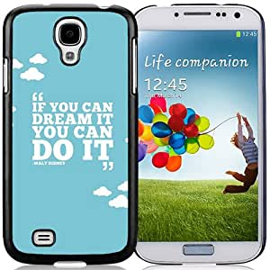 If You Can Dream Durable High Quality Samsung Galaxy S4 I9500 Case