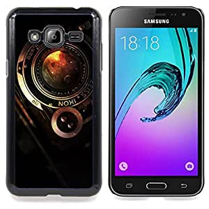 SKCASE Center / Funda Carcasa protectora - Cámara Zeiss vintage;;;;;;;; - Samsung Galaxy J3 GSM-J300