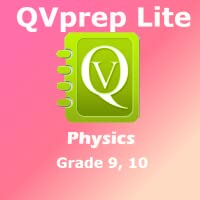 QVprep Lite Science Physics Grade 9 10 for ninth 9th tenth 10th Grade - Learn Physics