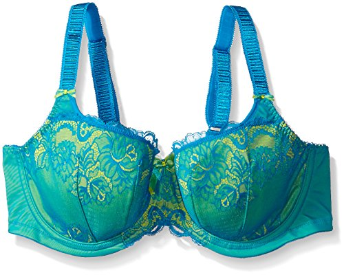 0b9603c0afbc9 Elomi Women s Plus Size Anushka Underwire Padded Half Cup Banded Bra at  Amazon Women s Clothing store