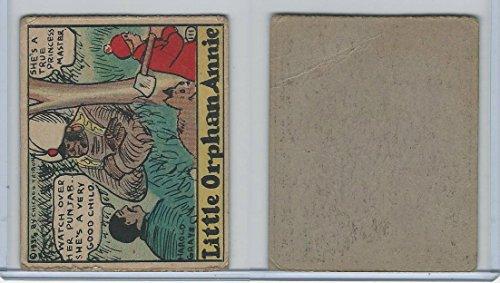 R27 Strip Card, Cartoon Comics, 1935, 111 Little Orphan -