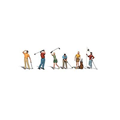 Woodland Scenics HO Golfers WOOA1907: Toys & Games