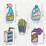 Cute Creative Enamel Pins Brooch Set - 5 pcs