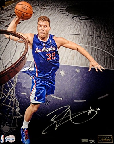 Blake Griffin Hand Signed Autographed 16x20 photograph Dunk LA Clippers 9/32