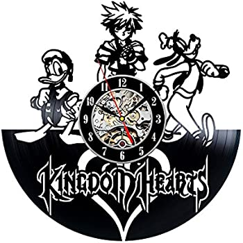 Amazon Com Kingdom Hearts Anime Vinyl Record Design Wall