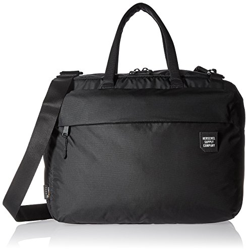 Herschel Supply Co. Men's Britannia Trail 3 Way Briefcase, Black, One Size by Herschel Supply Co.