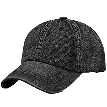 Leisial Ocio Gorra de Béisbol de Vaquero Color Sólido Ajustable del Sombrero al Aire Libre Hats Hip-Hop Verano Primavera para Hombre Mujer