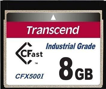 Transcend CFast Memoria Flash 8 GB SLC - Tarjeta de Memoria ...