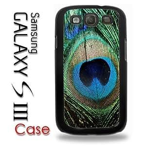 Samsung Galaxy S3 Plastic Case - Peacock Feathers Bird Green Beautiful