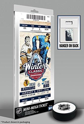 Winter Classic Mega Ticket (2017 NHL Winter Classic Mini-Mega Ticket - Blackhawks vs Blues)