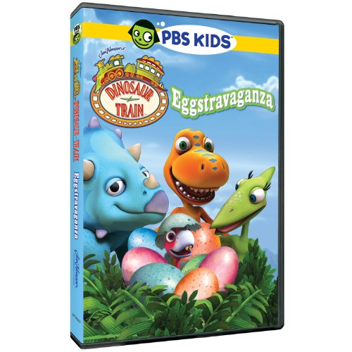 Dinosaur Train: Eggstravaganza (Cartoon For Kids Dvd)