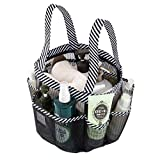 okroo Shower Caddy Tote, Shower Basket Mesh,Quick Dry Bathroom Organizer Bag,Must Have for Dorm Life,Perfect for College Dorm,Camping, Gym,Trip,...