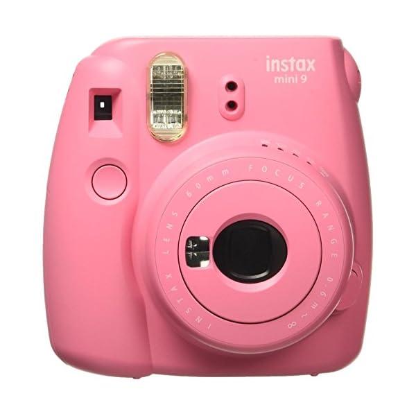 RetinaPix Fujifilm Instax Mini 9 Instant Camera (Flamingo Pink)