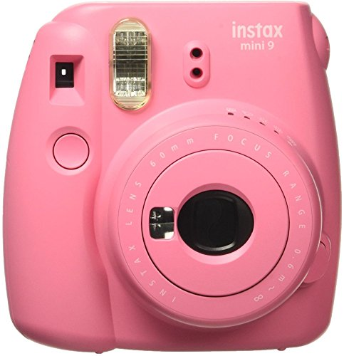 (Fujifilm Instax Mini 9 Instant Camera, Flamingo Pink)