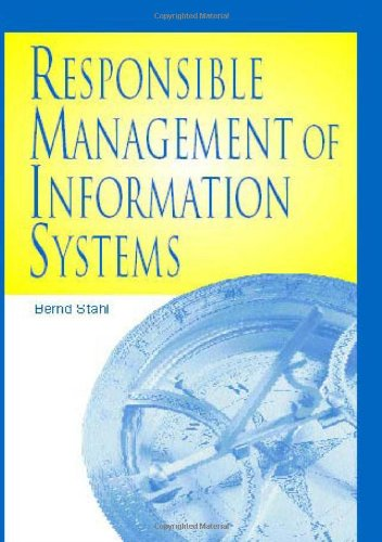 Responsible Management of Information Systems by Brand: IGI Global