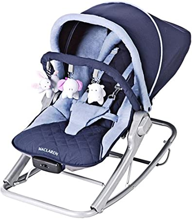 Amazon.com: Maclaren Rocker Navy/Soft Blue (suspendido por ...