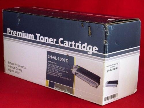 Sharp AL-100TD ( Sharp AL100TD) Compatible Laser Toner Cartridge / Developer - Black, Works for Sharp AL-1641CS, Sharp AL-1642CS, Sharp AL-1651CS, Sharp ()