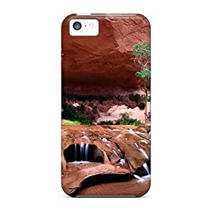ObI5852uRgI Tpu Phone Case With Fashionable Look For Iphone 5c - Desert Oasis
