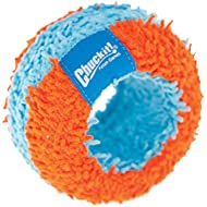 Chuckit! Indoor Roller Dog Toy for Small Dogs and Puppies - Orange/Blue - One Size