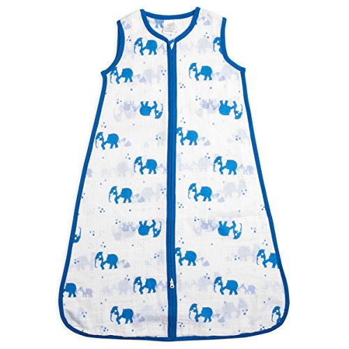 Muslin Sleeping Bag Elephant - 1