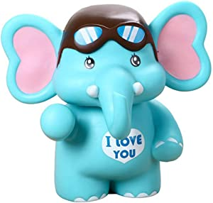 BREIS Cute Piggy Bank, Elephant Piggy Banks Money Bank Coin Bank Christmas Birthday Gifts for Boys Kids Girls