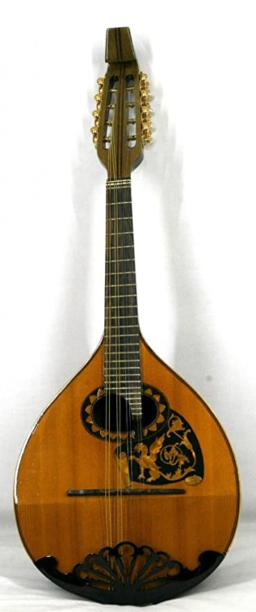 musikalia Modelo Beethoven Mandolina, Rose Madera, Luthier de Crafted, biconvex, con