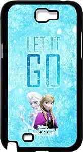 Disney Frozen Samsung Galaxy Note 2 Case Cover - Disney Frozen Samsung Galaxy Note 2 Hard Plastic Case Cover - Black Kimberly Kurzendoerfer