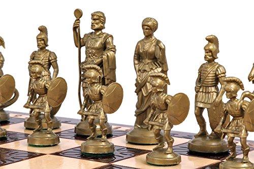 Scac  di legno decorativi 49,5 cm 19.5 in SPARTA esclusivo Set con pezzi pesati