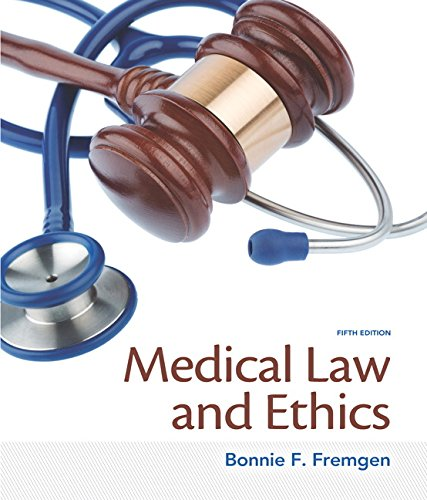 133998983 - Medical Law and Ethics (5th Edition)