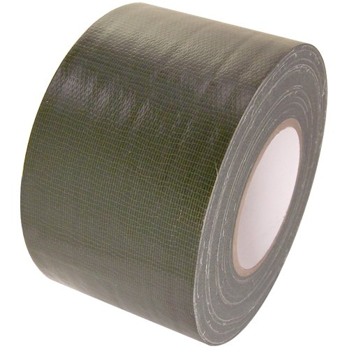 Duct Tape 4 in x 60 yd rolls, Craft Grade, 18 colors, Olive Drab - Olive Drab Duct Tape