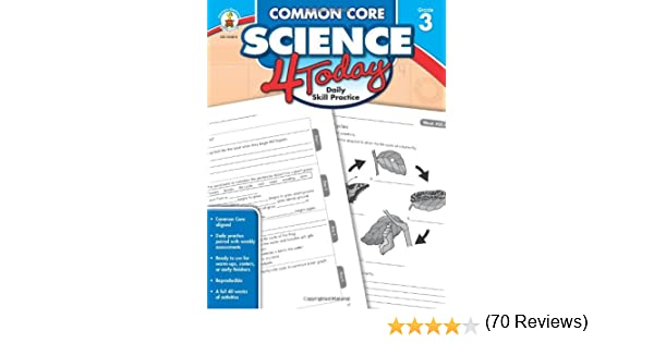 Amazon.com: Common Core Science 4 Today, Grade 3: Daily Skill ...