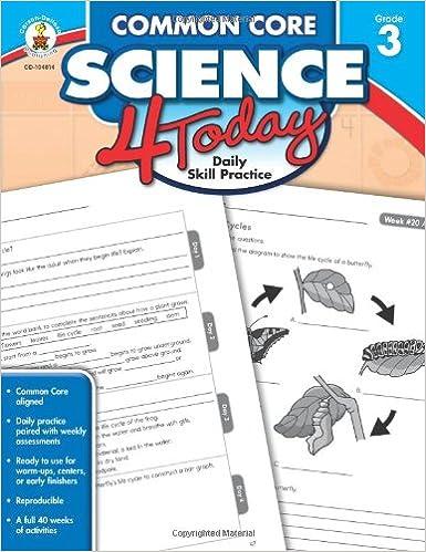 Amazon.com: Common Core Science 4 Today, Grade 3: Daily Skill ...