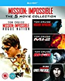 Mission Impossible 1-5 [Blu-ray] [UK Import]