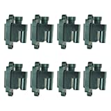 Square Ignition Coil 8 Piece Kit Set for Chevy Silverado 1500 Avalanche 1500 Silverado 2500 HD Suburban 1500 Tahoe GMC Sierra 1500 Yukon XL 1500 Hummer H2