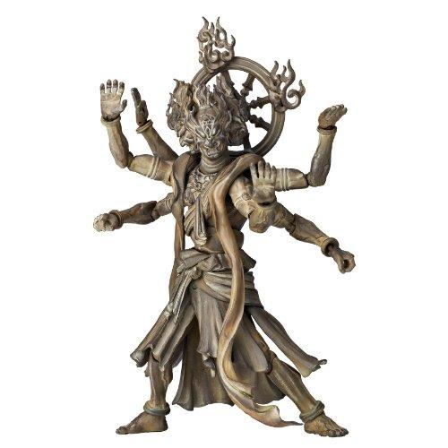 - Kaiyodo Takeya Revoltech Action Figure: #003 Ashura Wooden Version