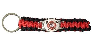 Llavero, diseño de bombero, bombero de lucha contra ...